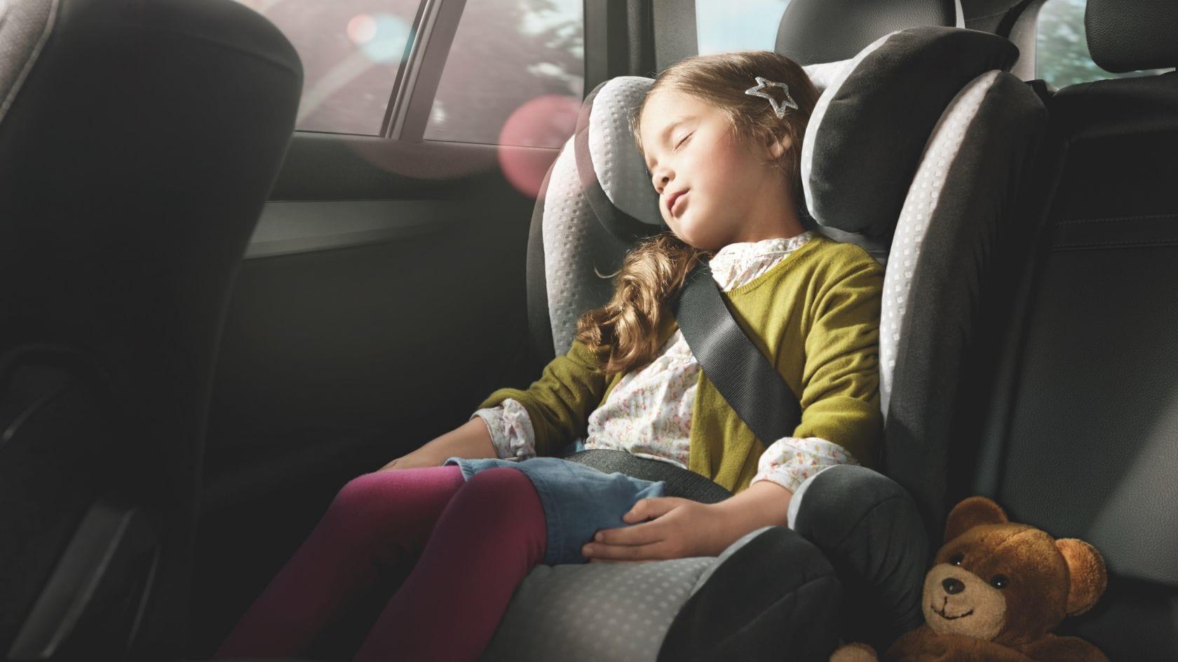 Комфортные      поездки на близкие и далекие расстояния возможны только с детскими      автокреслами